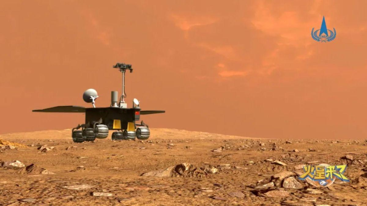 """China names its first-ever Mars rover """"Zhurong""""_40.1"""