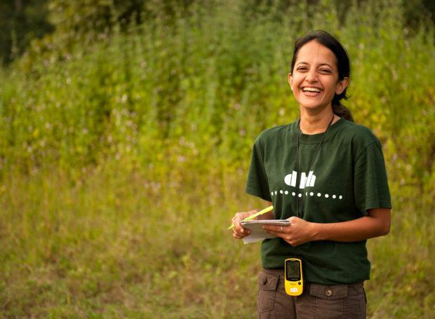 Krithi Karanth becomes 1st Indian woman to get 'Wild Innovator Award'_40.1