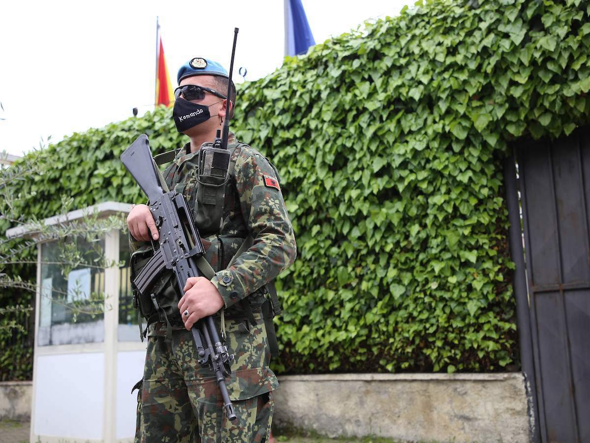 NATO military exercises launched in Albania_40.1