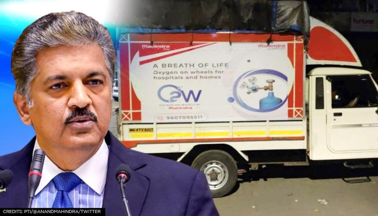 Anand Mahindra Launches Project 'Oxygen On Wheels'
