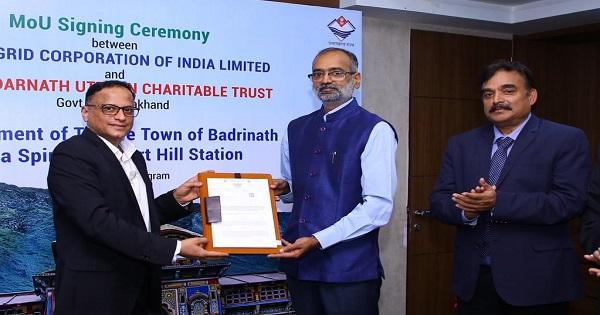 Oil And Gas Psus Inks Mou For Shri Badrinath Dham