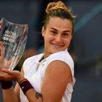Aryna Sabalenka wins her Maiden Madrid Open Women's singles title