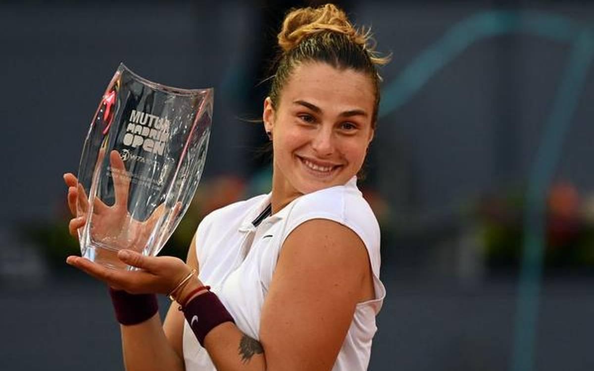 Aryna Sabalenka wins her Maiden Madrid Open Women's singles title|আরিনা সাবালেনকা তার মেইডেন মাদ্রিদ ওপেন উইমেনস সিঙ্গলস খেতাব জিতেছেন_40.1