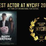 Anupam Kher wins best actor award at New York City International Film Festival