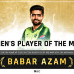 Pakistan's Babar Azam Wins ICC Players of the Month for April 2021