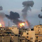 Hostilities between Israel and Hamas escalated after the air strikes