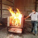 IIT Ropar developed portable eco-friendly mobile cremation system