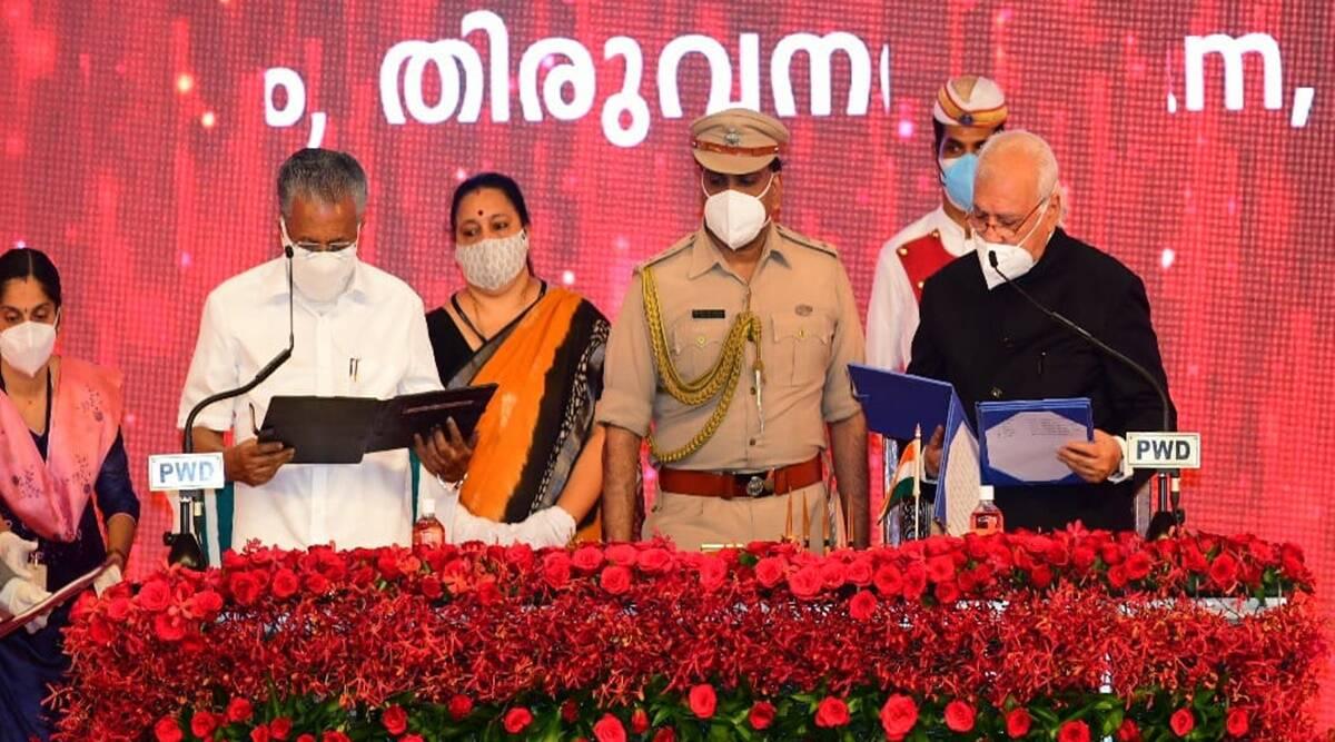Pinarayi Vijayan takes oath as Kerala Chief Minister for 2nd time_40.1