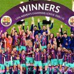 Barcelona Women beat Chelsea Women to win Women's Champions League trophy