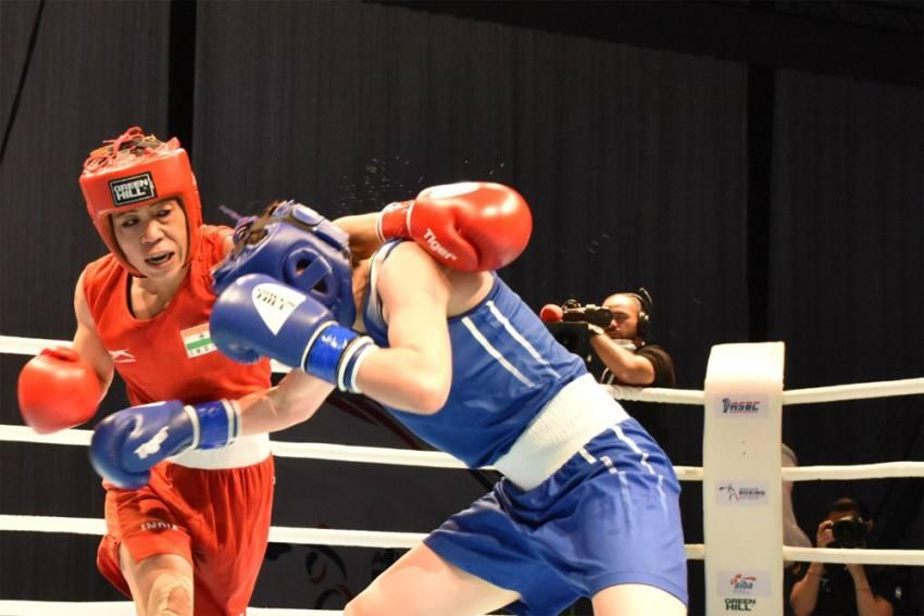 Mary Kom Settles with Silver Medal at 2021 Asian Boxing Championships   মেরি কম 2021 এশিয়ান বক্সিং চ্যাম্পিয়নশিপে রৌপ্য পদক অর্জন করেছেন_40.1