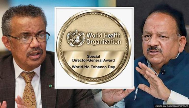 WHO honours Dr Harsh Vardhan for efforts in tobacco control | তামাক নিয়ন্ত্রণে প্রচেষ্টার জন্য ডাঃ হর্ষবর্ধনকে সম্মান জানাল WHO_40.1