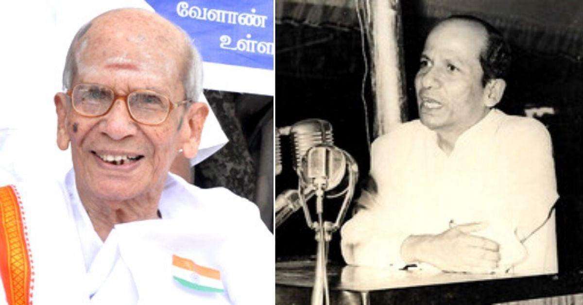 T.M. Kaliannan, last surviving member of Constituent Assembly, passes away   গণপরিষদের সর্বশেষ জীবিত সদস্য টি.এম.কালিয়ান্নান মারা গেলেন_40.1