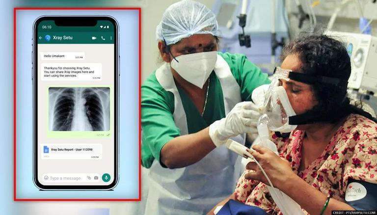 XraySetu Launched to Detect Covid in Rural Population via WhatsApp | एक्सरेसेतूने व्हॉट्सअॅपवरुन ग्रामीण लोकसंख्येतील कोविड शोधण्यास सुरुवात केली_40.1