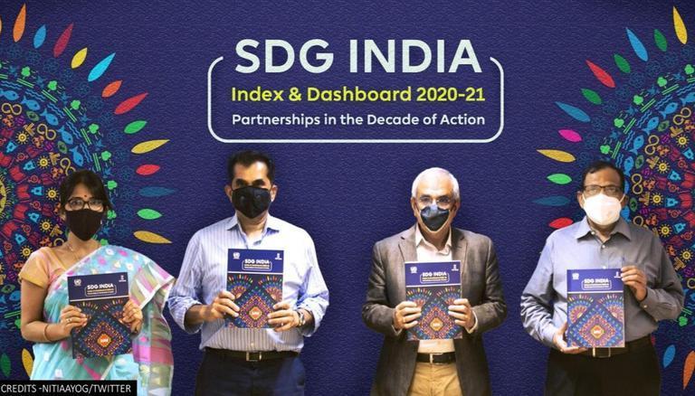 Kerala retains top rank in Niti Aayog's 3rd SDG India Index 2020-21 | নীতিআয়োগের তৃতীয় SDG ইন্ডিয়া ইনডেক্স 2020-21-এ কেরালা শীর্ষ র্যাঙ্ক ধরে রেখেছে_40.1