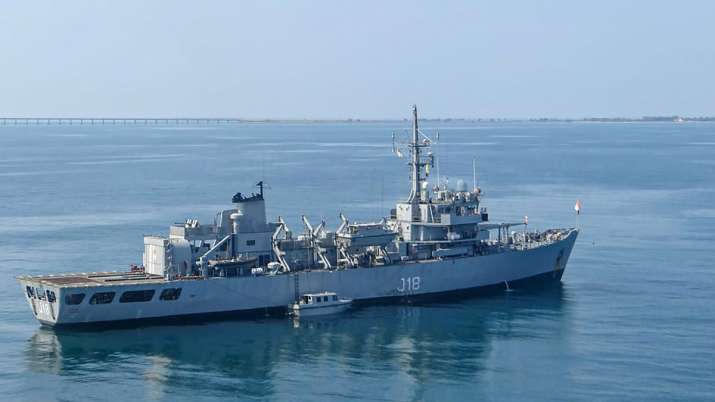 Navy's Hydrographic Survey Ship Sandhayak To Be Decommissioned_40.1