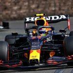 Sergio Perez wins Formula 1's Azerbaijan Grand Prix