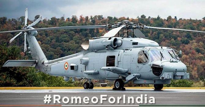 US to hand over three MH-60 'Romeo' multi-role choppers to India | अमेरिका तीन एमएच -60 'रोमियो' मल्टी-रोल हेलिकॉप्टर्स भारताला देणार आहे_40.1