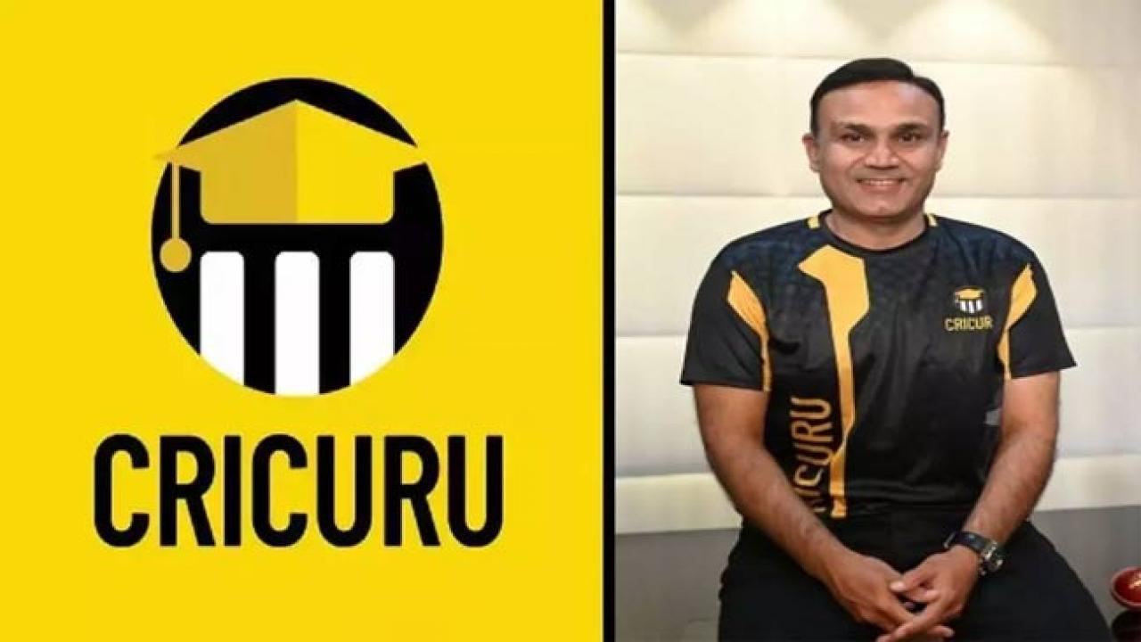 Sehwag launches cricket coaching website 'Cricuru'_40.1