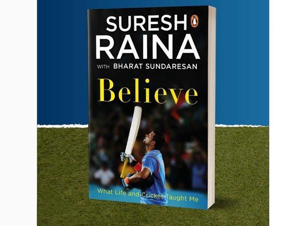 Cricketer Suresh Raina releases his autobiography 'Believe'_40.1