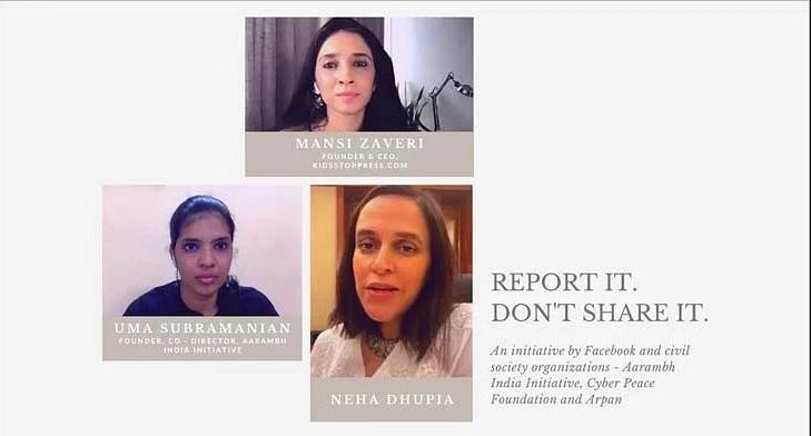 Facebook launches 'Report it, Don't share it!' initiative I फेसबुकने 'रिपोर्ट इट, डोन्ट शेअर इट' उपक्रम सुरु केला._40.1