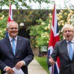 UK and Australia agreed on historic free trade agreement