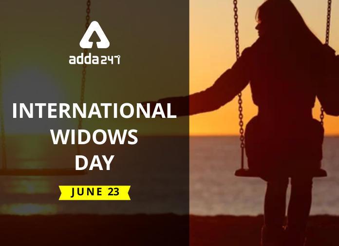 International Widows Day: 23 June I 23 जून: आंतरराष्ट्रीय विधवा दिवस_40.1