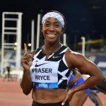 Shelly-Ann Fraser-Pryce becomes second fastest woman of all-time ahead