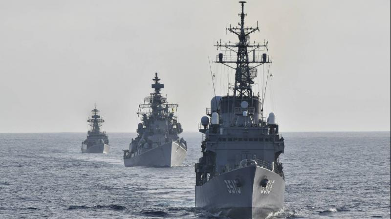 Indian Navy and European Naval Force hold first joint exercise | ভারতীয় নৌবাহিনী এবং ইউরোপীয় নৌবাহিনী প্রথম জয়েন্ট এক্সারসাইজ আয়োজন করল_40.1