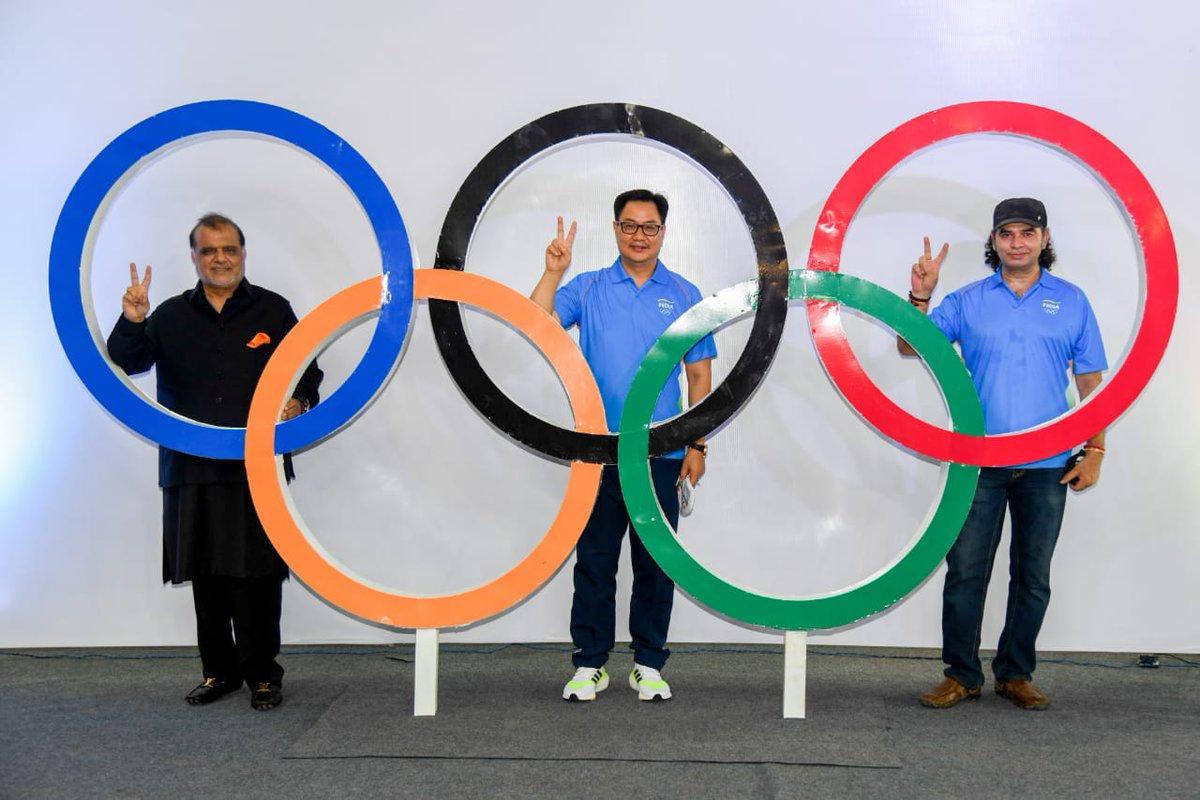 India's official Olympic theme song 'Lakshya Tera Samne Hai' released | ভারতের অফিসিয়াল অলিম্পিক থিমের গান 'Lakshya Tera Samne Hai' প্রকাশিত হল_40.1