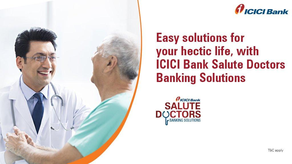 ICICI Bank launches 'Salute Doctors', banking solution for doctors | ICICI ব্যাংক চিকিৎসকদের ব্যাংকিং সল্যুশনের জন্য 'Salute Doctors' চালু করেছে_40.1