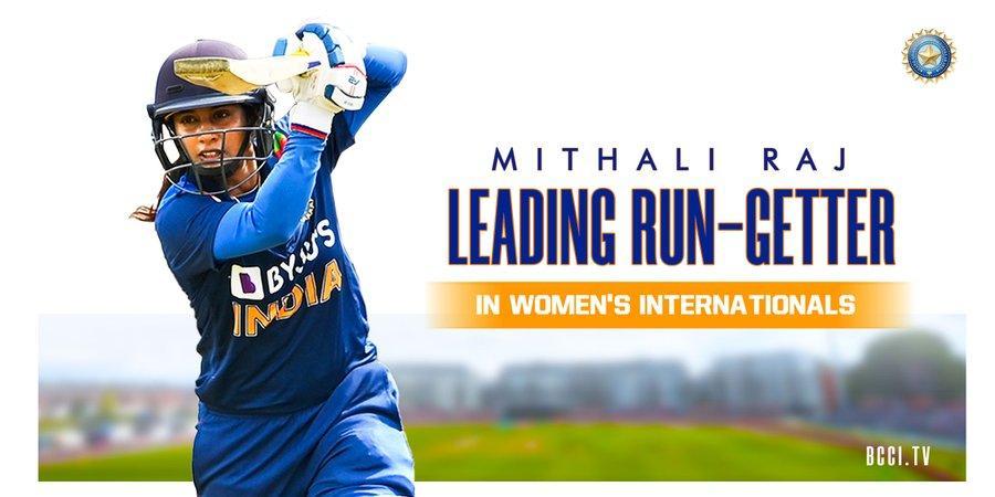 Mithali Raj surpasses Edwards to become highest run-getter I एडवर्डला मागे टाकत मिथाली राज ठरली सर्वाधिक धावा करणारी खेळाडू_40.1