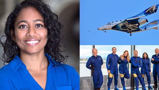 Indian-American Sirisha Bandla set to fly into space I भारतीय-अमेरिकन सिरीशा बंडला करणार अंतराळात उड्डाण_40.1