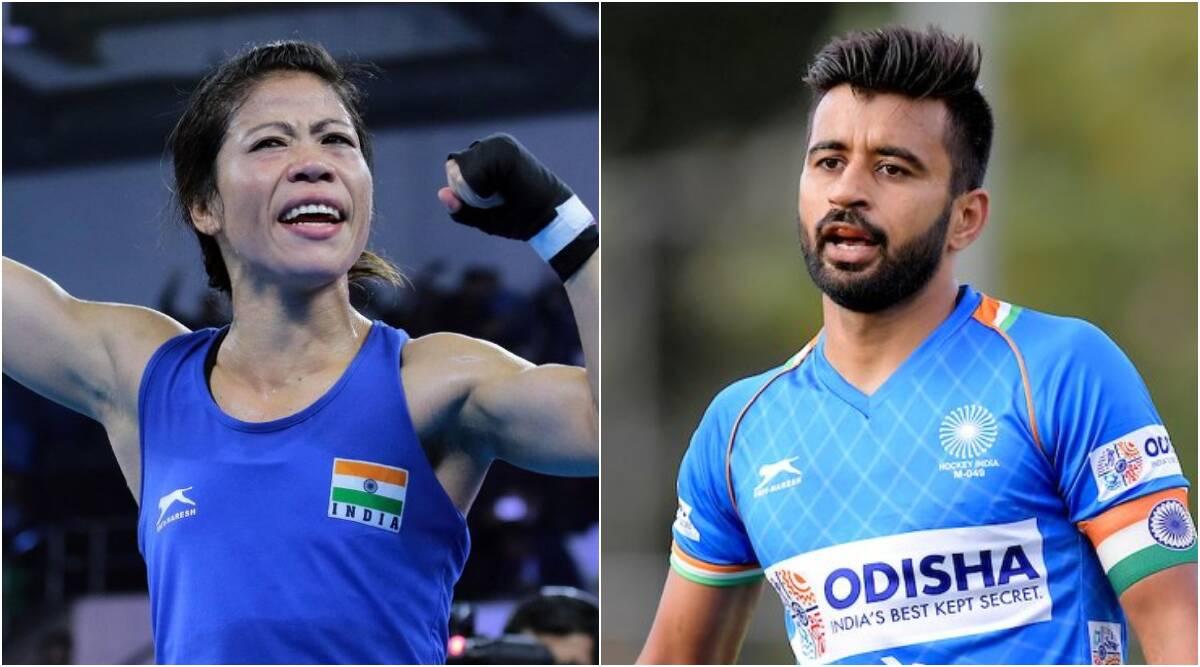 Mary Kom, Manpreet Singh to be India's flag-bearers at Tokyo Olympics | টোকিও অলিম্পিকে ভারতের পতাকাবাহক হিসাবে থাকবেন মেরি কম, মনপ্রীত সিং_40.1
