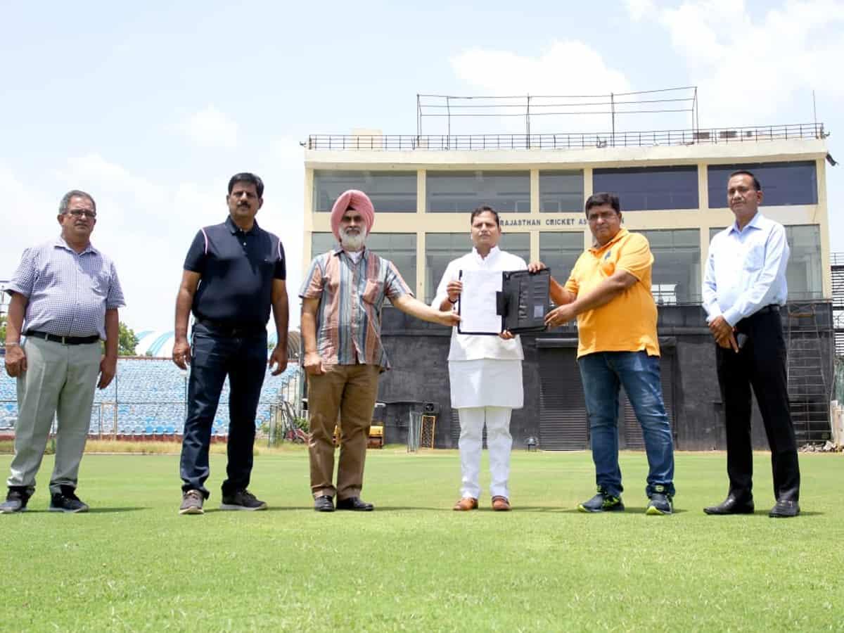 Jaipur to get India's second largest cricket stadium I जयपूरमध्ये भारतातील दुसरे सर्वात मोठे क्रिकेट स्टेडियम उभारले जाणार_40.1