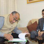 N Venudhar Reddy takes charge as Director General of All India Radio