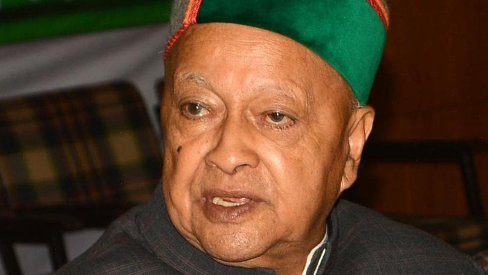 Former Himachal Pradesh Chief Minister Virbhadra Singh passes away | হিমাচল প্রদেশের প্রাক্তন মুখ্যমন্ত্রী বীরভদ্র সিং প্রয়াত হলেন_40.1