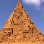 World's tallest sandcastle constructed in Denmark