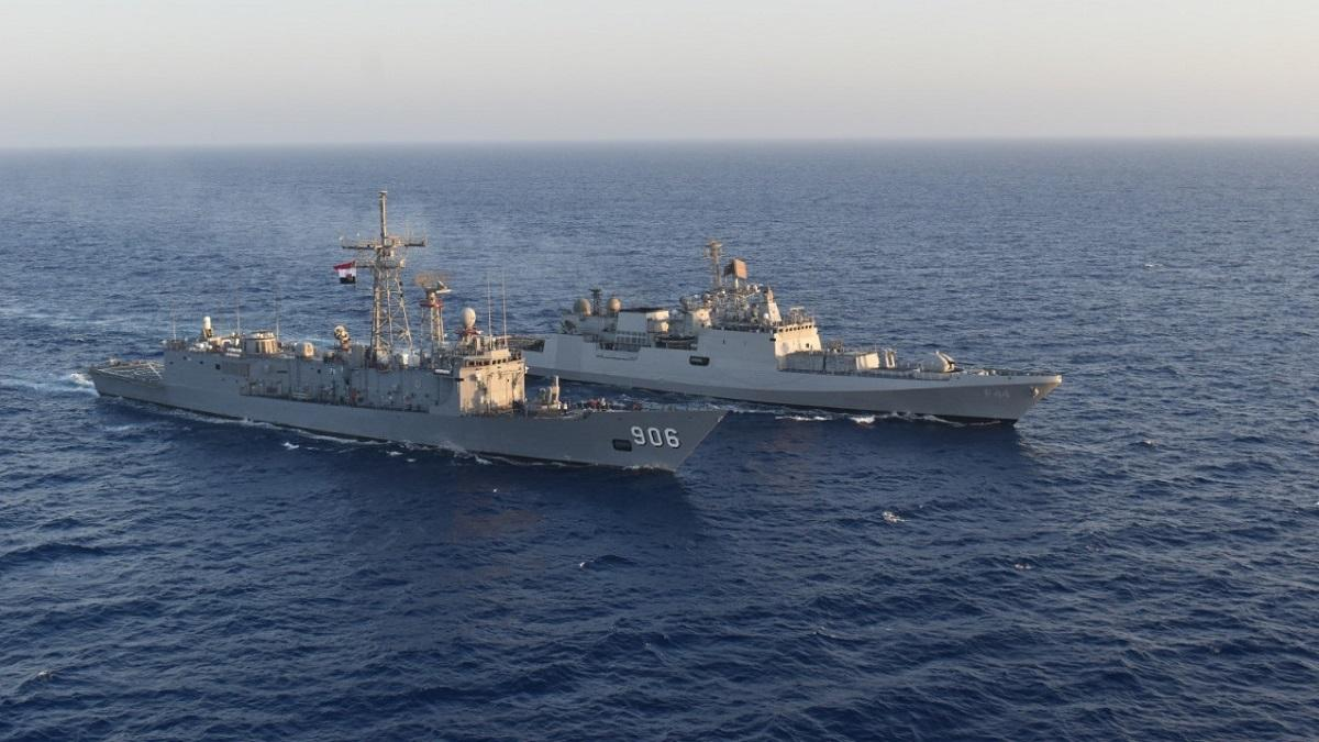 INS Tabar conducts military exercise with Italian Navy_40.1