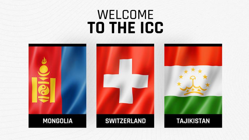 ICC welcomes Mongolia, Tajikistan and Switzerland as new members | ICC মঙ্গোলিয়া, তাজিকিস্তান এবং সুইজারল্যান্ডকে নতুন সদস্য হিসাবে স্বাগত জানালো_40.1