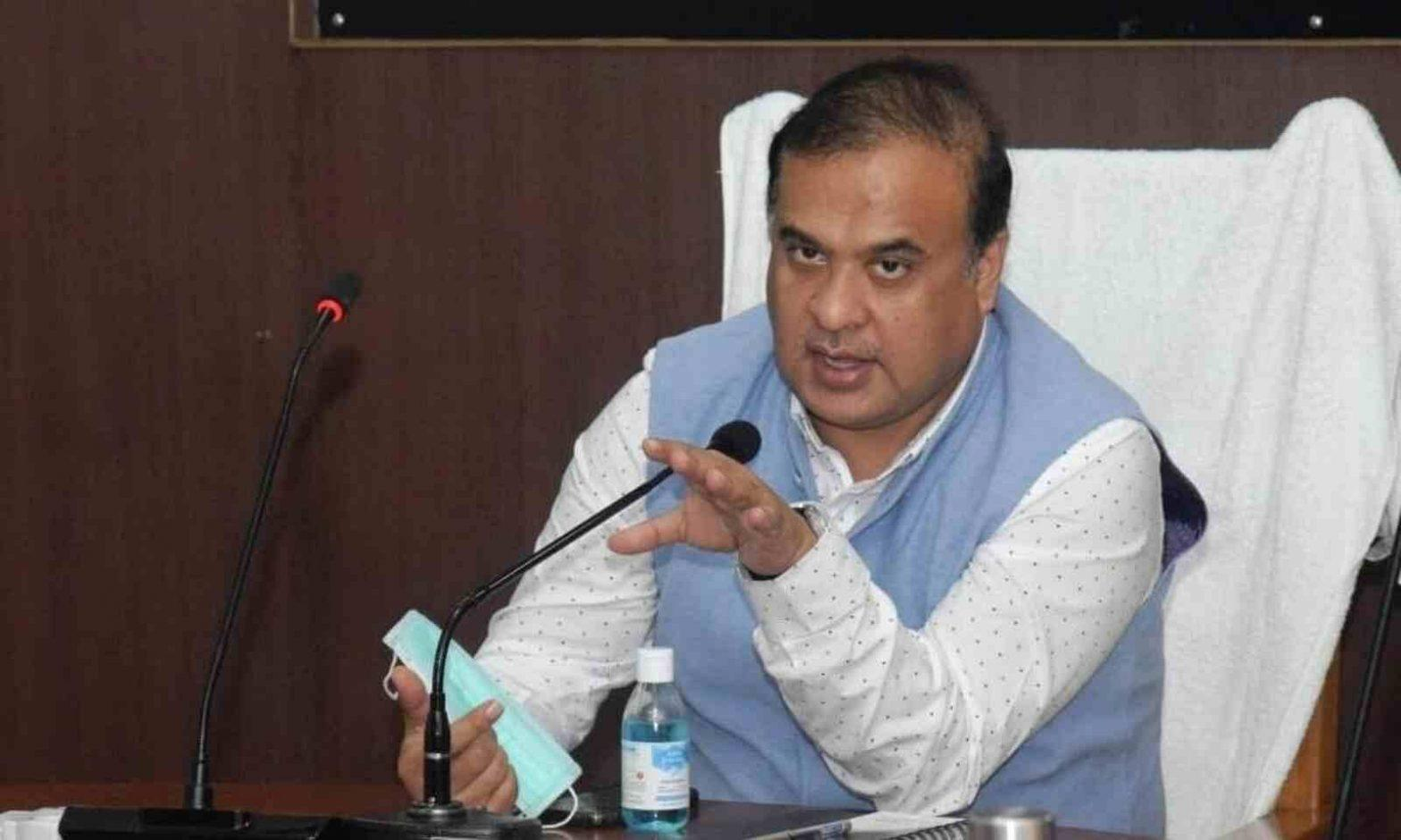 Assam CM Himanta Biswa assures govt jobs for National Games Medalists | आसामचे मुख्यमंत्री हिमंता बिस्वा यांनी राष्ट्रीय खेळांत पदक विजेत्यांना शासकीय नोकर्या देण्याची हमी दिली_40.1
