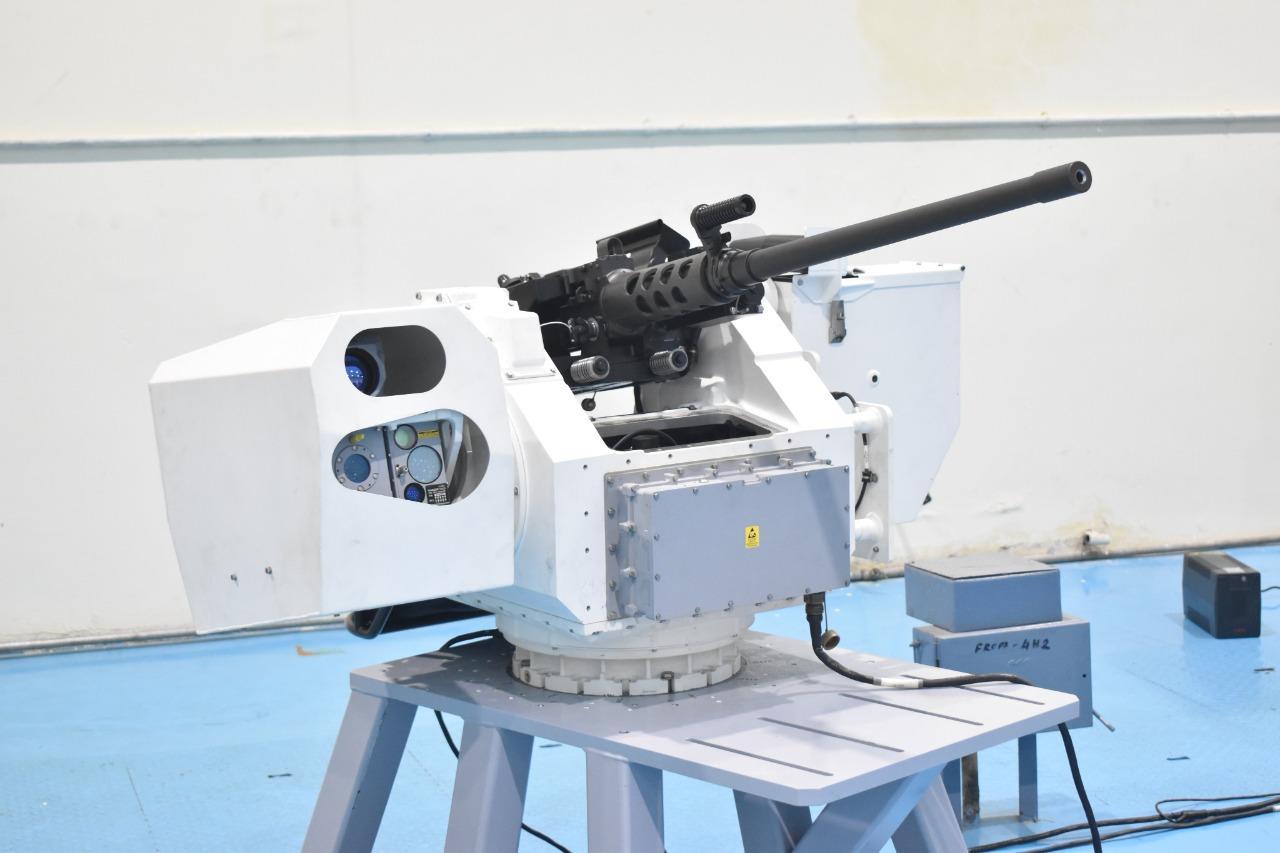 OFT hands delivery of 25 remote control guns to Navy   भारतीय नौसेनाला 25 रिमोट कंट्रोल बंदुकी ओएफटी कडून सुपूर्द_40.1