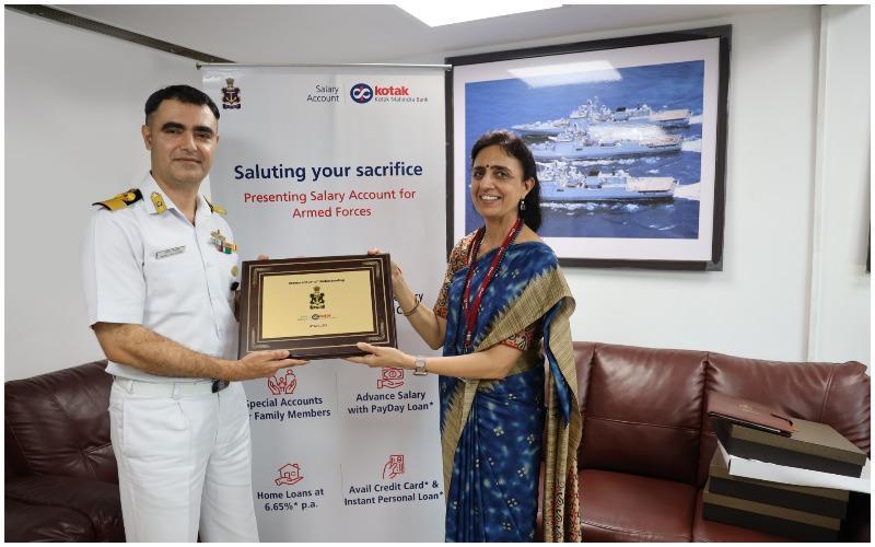 Kotak Mahindra Bank signs MoU with the Indian Navy | कोटक महिंद्रा बँक आणि भारतीय नौदल यांच्यात सामंजस्य करार_40.1