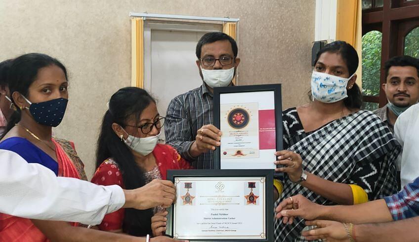National Silver SKOCH award for Cachar district | कचर जिल्ह्याला राष्ट्रीय रौप्य स्कॉच पुरस्कार मिळाला_40.1