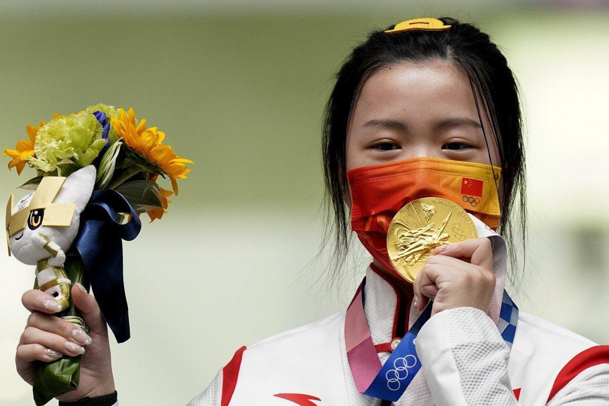 First Gold Medal of Tokyo Olympics: Yang Qian | याँग किआन: टोकियो ऑलिम्पिकचे पहिले सुवर्णपदक_40.1