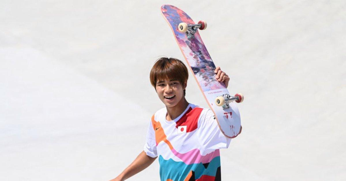 Japan's Yuto Horigome wins first ever Olympic gold medal in skateboarding_40.1