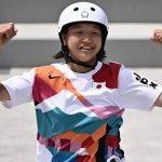 Momiji Nishiya becomes one of the youngest gold medal winners in Olympic