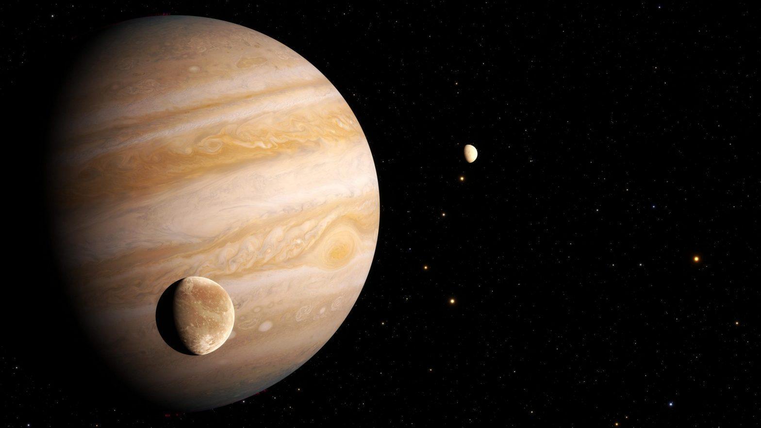 Hubble Finds First Evidence of Water Vapor at Jupiter's Moon Ganymede_40.1