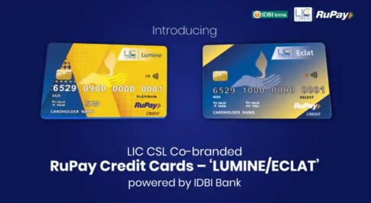 LIC Cards Services, IDBI Bank launch RuPay credit cards Lumine, Eclat_40.1