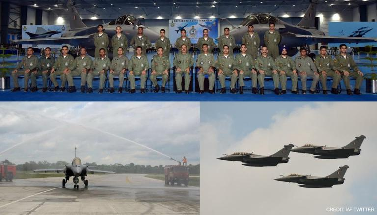 IAF inducts 2nd squadron of Rafale aircraft at West Bengal's Hasimara_40.1