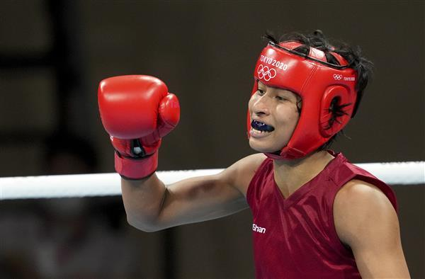 Tokyo Olympics 2020: Boxer Lovlina Borgohain Claims Bronze Medal_40.1
